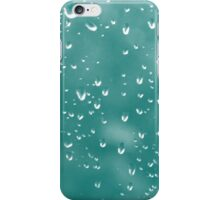 Abstract raindrops iPhone Case/Skin