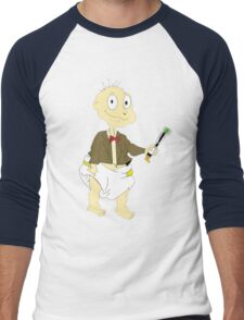 Timelord Tommy  Men's Baseball ¾ T-Shirt