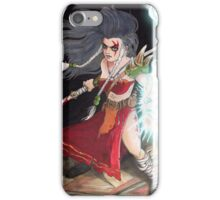 Druilla the Warrior Mage iPhone Case/Skin