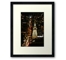 The Star of Filbert Street Framed Print