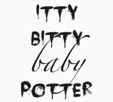 Itty Bitty Baby Potter by feedmeimstarvin