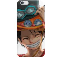 luffy 1 iPhone Case/Skin