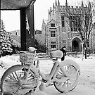 Snowy Bicycle by Photo-Bob