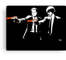 Pulp Fiction zappers Canvas Print