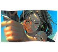 Archer-girl Poster