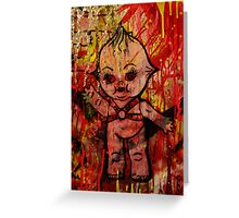 Kewpie Cannibal   Greeting Card