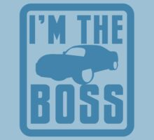 I'm the BOSS with luxury car by jazzydevil