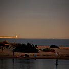 Lighthouse, Evening Light by Lozzar Landscape