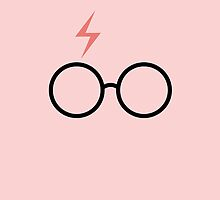Harry Potter - Minimalist (Pink) by runswithwolves