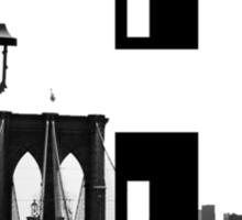 Brooklyn Block Sticker