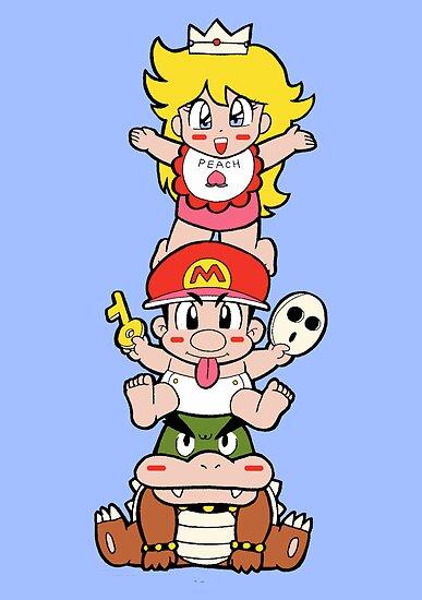 Yoshi's Island: Super Mario World 2 by Studio Momo ╰༼ ಠ益ಠ ༽