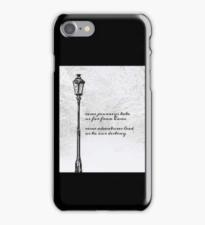 Narnia Lamp Post iPhone Case/Skin