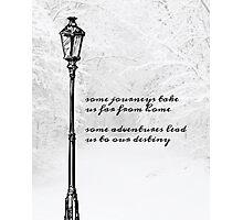 Narnia Lamp Post Photographic Print