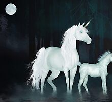 Unicorns'... by Valerie Anne Kelly