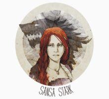 Sansa Stark · t-shirt by Elia Mervi