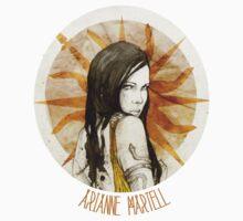 Arianne Martell · t-shirt by Elia Mervi