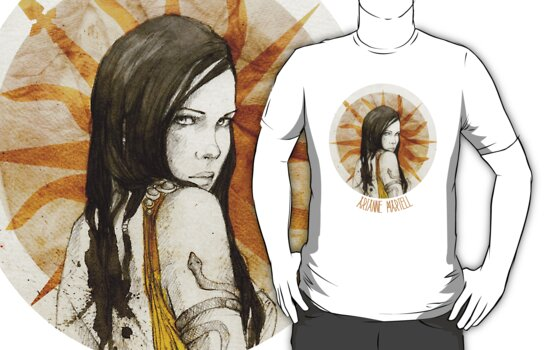 Arianne Martell · t-shirt by elia, illustration