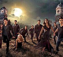 The vampire diaries-cast by KikkaT
