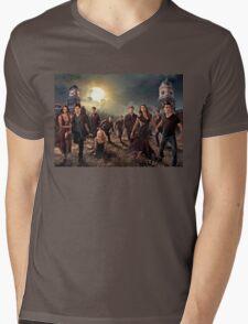 The vampire diaries-cast Mens V-Neck T-Shirt
