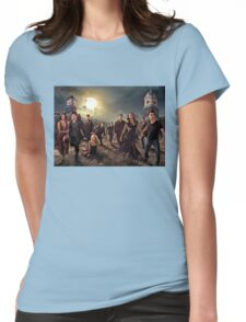 The vampire diaries-cast Womens Fitted T-Shirt