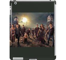 The vampire diaries-cast iPad Case/Skin