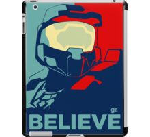 Halo , believe , game ,fun , style , hype , good ,chill , obey  iPad Case/Skin