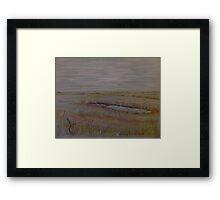 Norfolk Marshes, Blakeney Framed Print