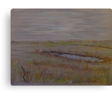 Norfolk Marshes, Blakeney Canvas Print