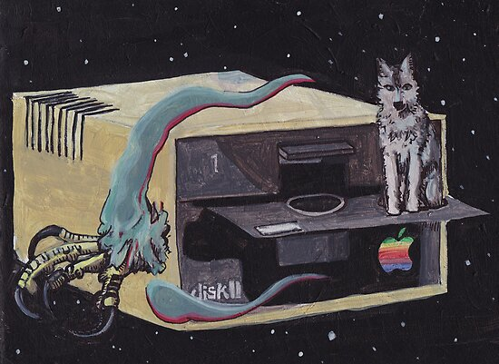 Antiquated Apple Aurora Borealis by KingVitaman