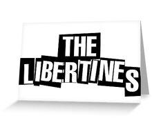 Libertines Logo Greeting Card