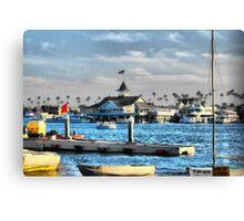Balboa Pavilion Newport Beach, California Canvas Print