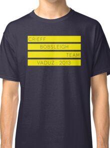 Crieff Bobsleigh Team - Vaduz 2013 Classic T-Shirt