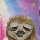 Cosmic Sloth by KingVitaman