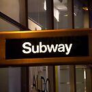 Subway NYC by jeffreynelsd