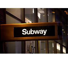 Subway NYC Photographic Print