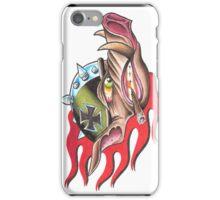 Flaming Hog iPhone Case/Skin