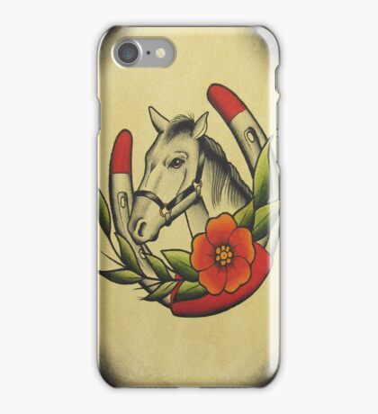 Horse and Shoe iPhone Case/Skin