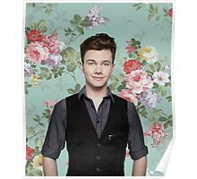 Chris Colfer Flowers Poster