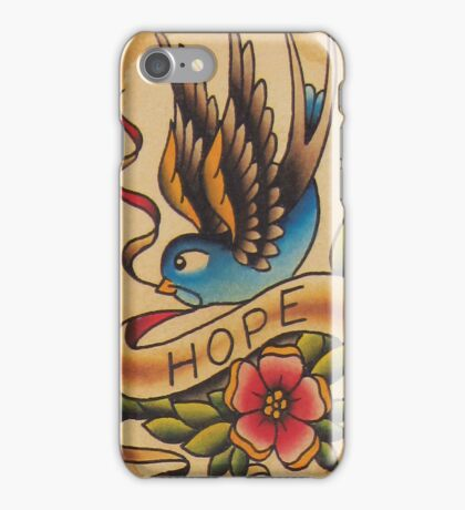 Hope Swallow iPhone Case/Skin