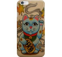 Chinese Good Luck Cat iPhone Case/Skin
