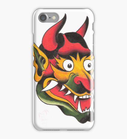 Old School Devil Head iPhone Case/Skin