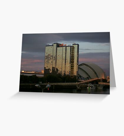 Sunset on the Clyde Greeting Card