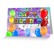 Deaf Language Happy Birthday Greeting Card Sign Greeting Card