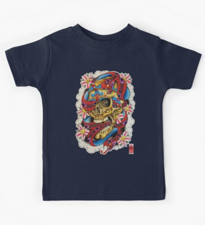Skull and Snakes Kids Tee