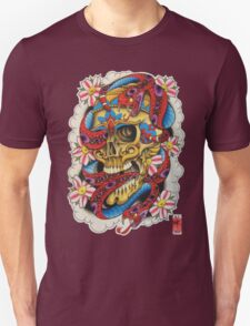 Skull and Snakes Unisex T-Shirt