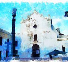 Old San Juan Church by Charlie Roman