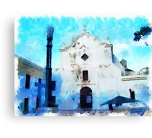 Old San Juan Church Canvas Print