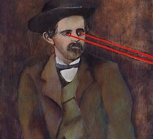 Laser Eyes: John Wilkes Booth by KingVitaman