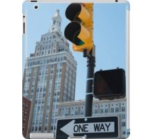 Downtown Direction iPad Case/Skin