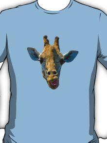 """""""I Don't Care"""" Giraffe Card T-Shirt"""